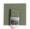 Benjamin Moore Colour HC-122 Great Barrington Green wet, dry colour sample.