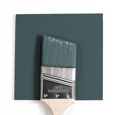 Benjamin Moore Colour HC-133 Yorktowne Green wet, dry colour sample.