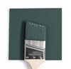 Benjamin Moore Colour HC-134 Tarrytowne Green wet, dry colour sample.