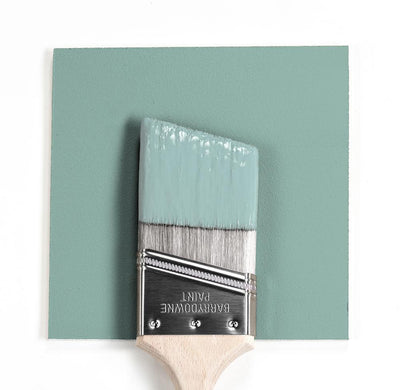 Benjamin Moore Colour HC-138 Covington Blue wet, dry colour sample.