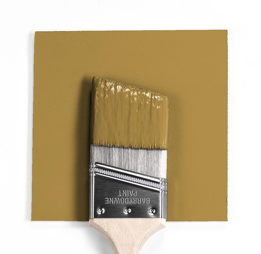 Benjamin Moore Colour HC-13 Millington Gold wet, dry colour sample.