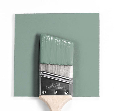 Benjamin Moore Colour HC-142 Stratton Blue wet, dry colour sample.