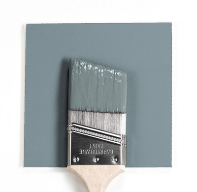 Benjamin Moore Colour HC-145 Van Courtland Blue wet, dry colour sample.