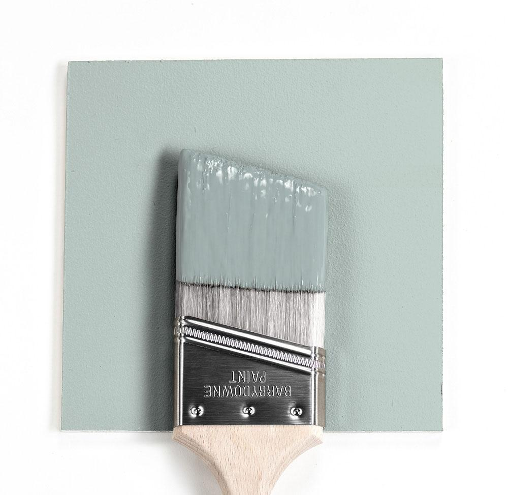 Benjamin Moore Colour HC-147 Woodlawn Blue wet, dry colour sample,