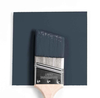 Benjamin Moore Colour HC-154 Hale Navy wet, dry colour sample.
