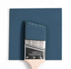 Benjamin Moore Colour HC-156 Van Deusen Blue wet, dry colour sample.