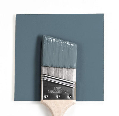 Benjamin Moore Colour HC-159 Philipsburg Blue wet, dry colour sample.