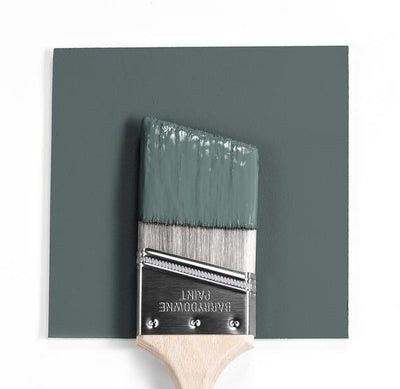 Benjamin Moore Colour HC-160 Knoxville Green wet, dry colour sample.