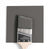 Benjamin Moore Colour HC-166 Kendall Charcoal wet, dry colour sample.