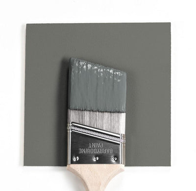 Benjamin Moore Colour HC-167 Amherst Gray wet, dry colour sample.