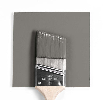 Benjamin Moore Colour HC-168 Chelsea Gray wet, dry colour sample.