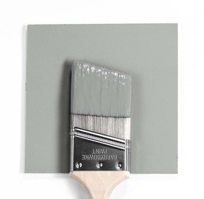 Benjamin Moore Colour HC-169 Coventry Gray wet, dry colour sample.