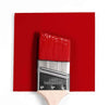 Benjamin Moore Colour HC-181 Heritage Red wet, dry colour sample.