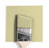 HC-1 Castleton Mist Benjamin Moore Paint Brush Mock Up