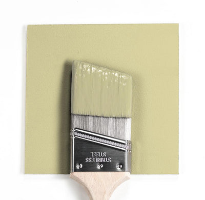 Benjamin Moore Colour HC-1 Castle Mist wet, dry colour sample.