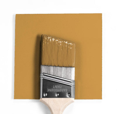 Benjamin Moore Colour HC-7 Bryant Gold wet, dry colour sample.