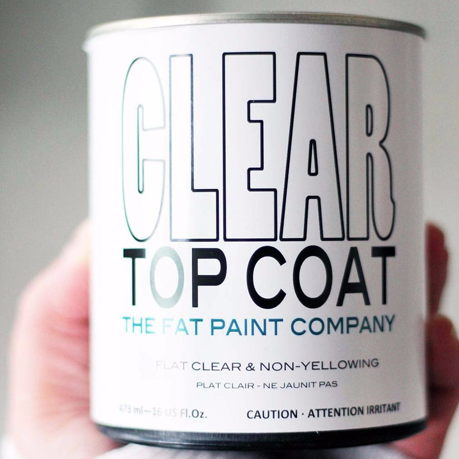 Fat Paint Top Coat for Chalk Paint