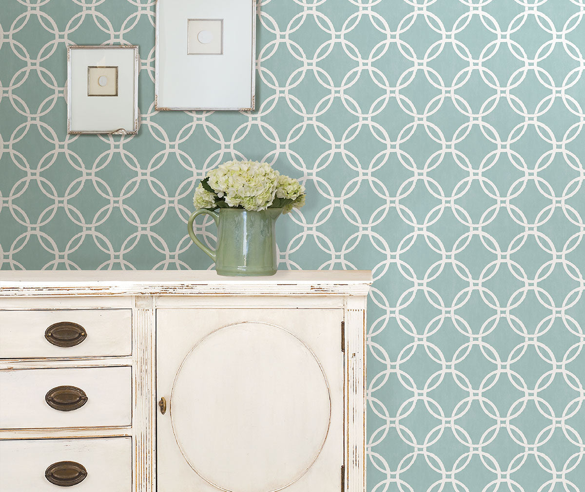 Hanging wallpaper has never been easier, peel and stick NuWallpaper available at Barrydowne Paint