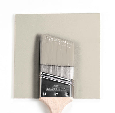 Benjamin Moore Colour OC-14 Natural Cream wet, dry colour sample.