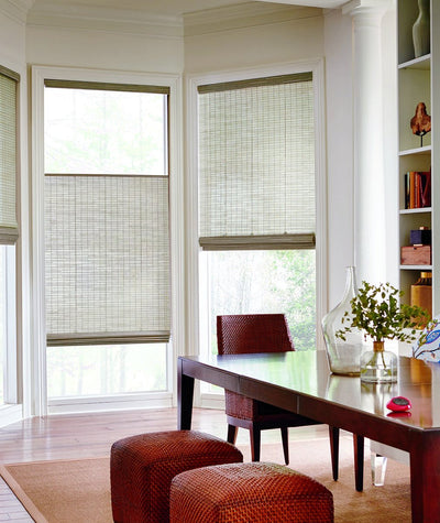 Hunter Douglas Window Treatments Provenance Dining Room