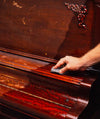 Howard's Restor-A-Finish restoring a piano