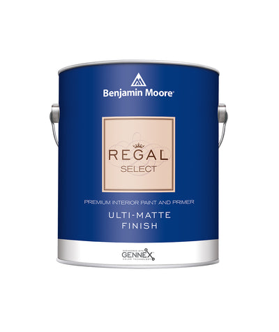 Benjamin Moore Regal Ulti-Matte Paint available at Barrydowne Paint in Sudbury.