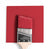 Benjamin Moore Colour CC-68 Lyons Red wet, dry colour sample.