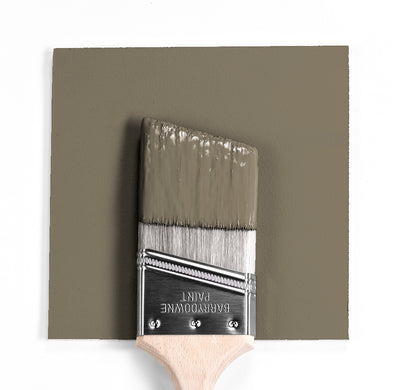Benjamin Moore Colour HC-103 Cromwell Gray wet, dry colour sample.