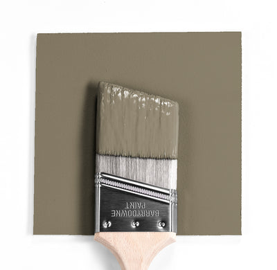 Benjamin Moore Colour HC-106 Crownsvillle Gray wet, dry colour sample.
