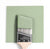 Benjamin Moore Colour HC-119 Kittery Point Green wet, dry colour sample.