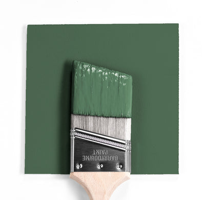 Benjamin Moore Colour HC-121 Paele Green wet, dry colour sample.