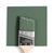 Benjamin Moore Colour HC-125 Cushin Green wet, dry colour sample.