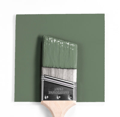 Benjamin Moore Colour HC-1266 Avon Green wet, dry colour sample.