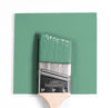 Benjamin Moore Colour HC-129 Southfield Green wet, dry colour sample.