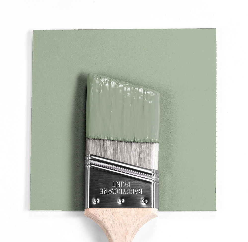 Benjamin Moore Colour HC-139 Salisbury Green wet, dry colour sample.
