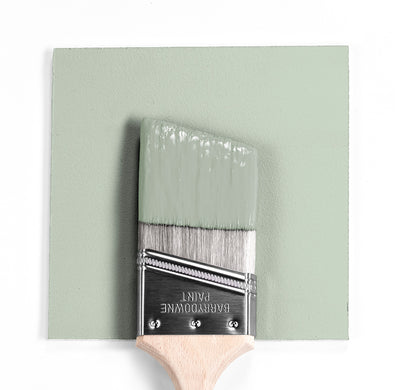 Benjamin Moore Colour HC-141 Hollingsworth Green wet, dry colour sample.