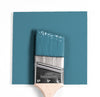 Benjamin Moore Colour HC-151 Buckland Blue wet, dry colour sample.