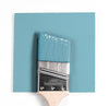 Benjamin Moore Colour HC-153 Marlboro Blue wet, dry colour sample