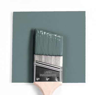 Benjamin Moore Colour HC-161 Templeton Gray wet, dry colour sample.