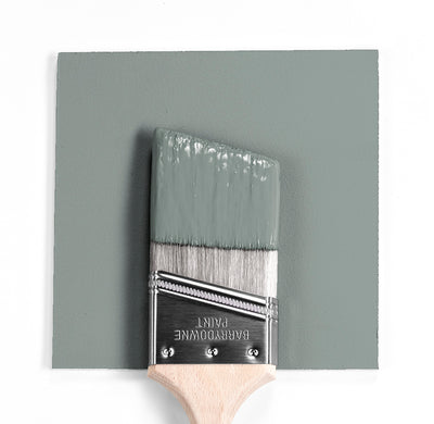 Benjamin Moore Colour HC-164 Puritan Gray wet, dry colour sample.