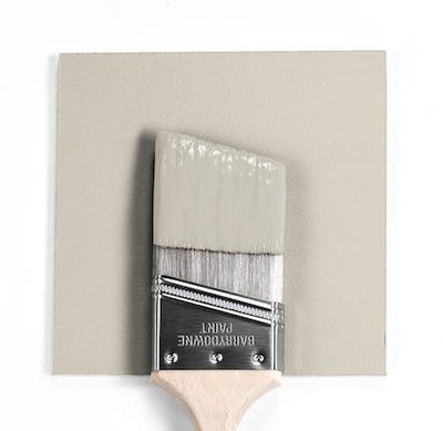 Benjamin Moore Colour HC-173 Edgecomb Gray wet, dry colour sample.