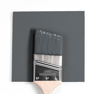 Benjamin Moore Colour HC-178 Charcoal Slate wet, dry colour sample.
