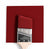 Benjamin Moore Colour HC-182 Classic Burgundy wet, dry colour sample.