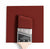 Benjamin Moore Colour HC-184 Cottage Red wet, dry colour sample.