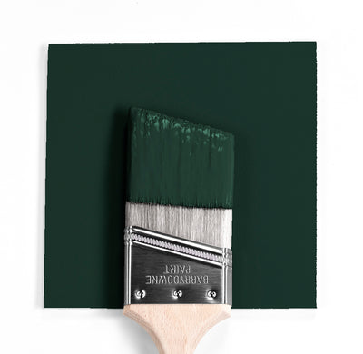 Benjamin Moore Colour HC-188 Essex Green wet, dry colour sample.
