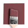 Benjamin Moore Colour HC-61 New London Burgundy wet, dry colour sample.