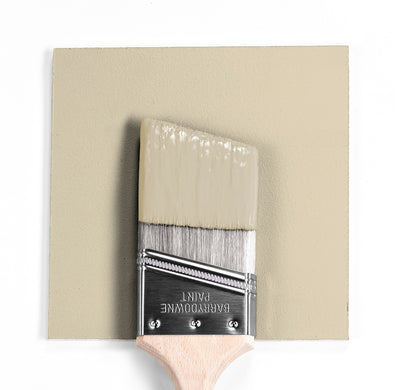 Benjamin Moore Colour HC-93 Carrington Beige wet, dry colour sample.