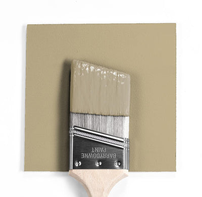 Benjamin Moore Colour HC-23 Yorkshire Tan wet, dry colour sample.