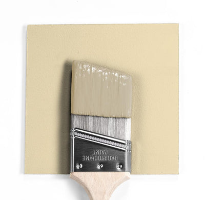 Benjamin Moore Colour HC-30 Philadelphia Cream wet, dry colour sample.
