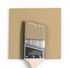 Benjamin Moore Colour HC-34 Wilmington Tan wet, dry colour sample.
